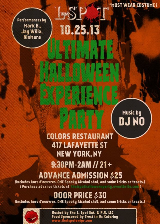 Ultimate Halloween Experience NYC