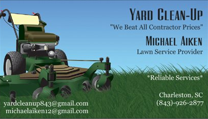 Yard Clean Up New Card