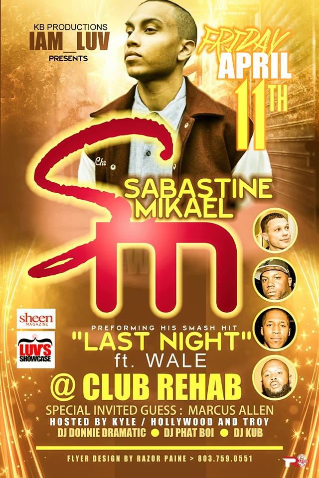 Sabastine Mikael Club Rehab April 11th