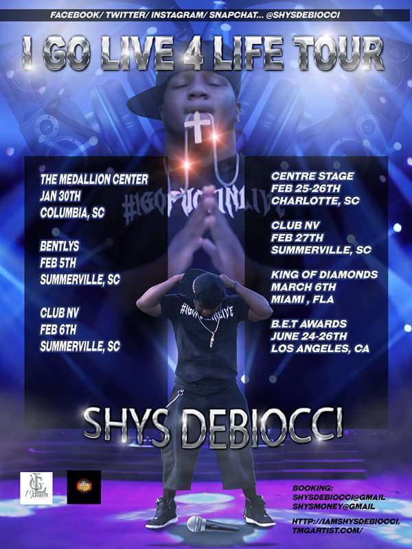 SHYS DEBIOCCI BOOKED DATES