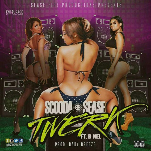 SCOODA SEASE TWERK FT B-NEL COVER ART