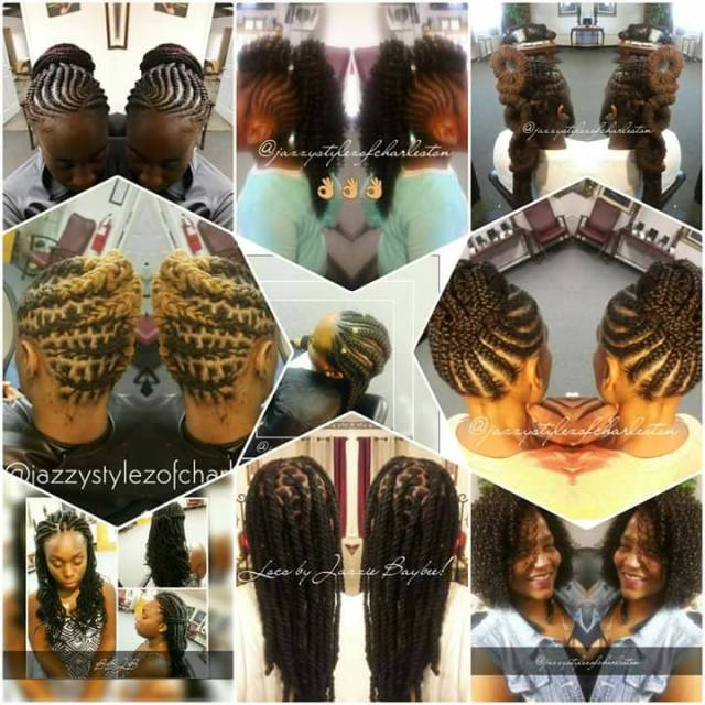 Jazzy Stylez of Charleston Hair Samples