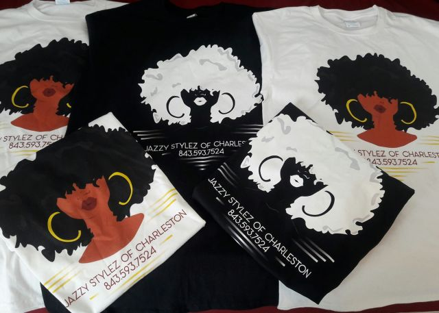 Jazzy Stylez Of Charleston T Shirts