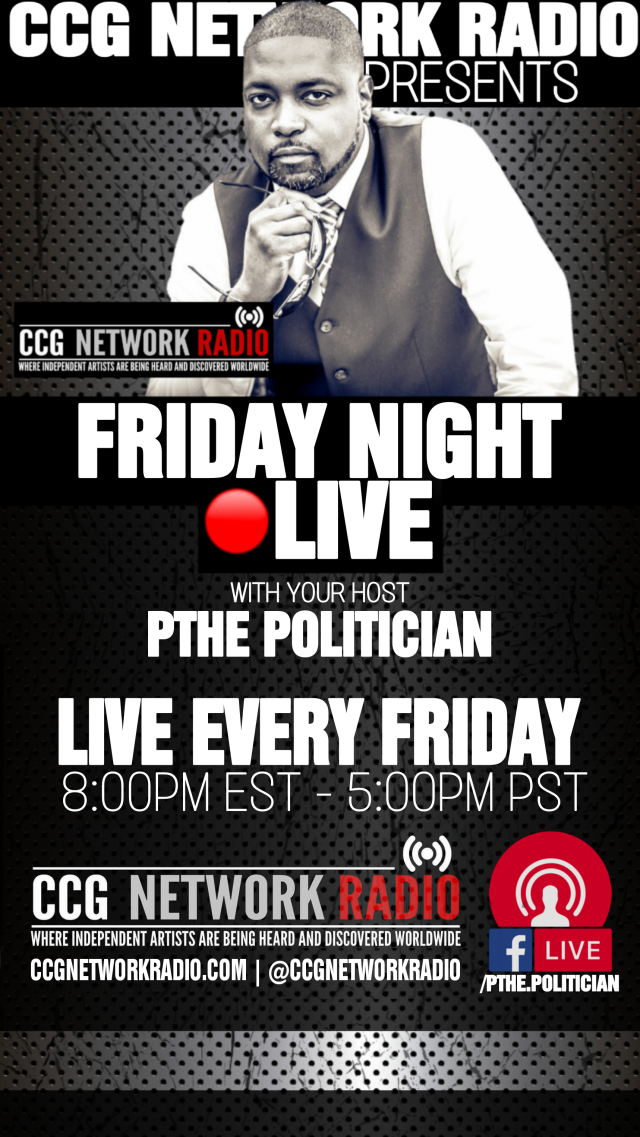 CCGRadio - FridayNightLive Flyer1