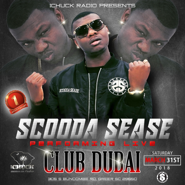 scooda sease live march 31st